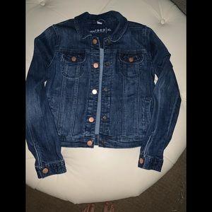 EUC Gap Girls XL denim jacket